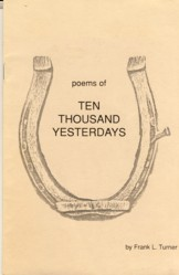 Image for Poems of Ten Thousand Yesterdays