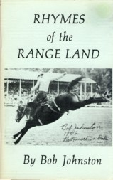 Image for Rhymes of the Range Land