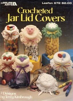 Image for Crocheted Jar Lid Covers Leaflet 672