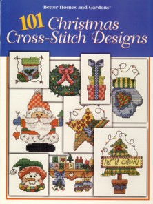 Image for 101 Christmas Cross-Stitch Designs