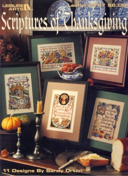 Image for Scriptures of Thanksgiving