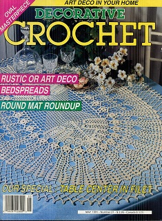 Image for Decorative Crochet May 1991 No 21