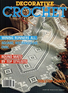 Image for Decorative Crochet January 1991 No 19