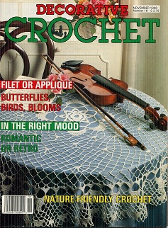 Image for Decorative Crochet November 1990 No 18
