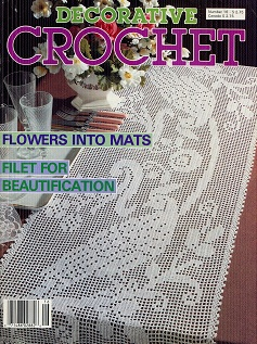 Image for Decorative Crochet July 1990 No 16