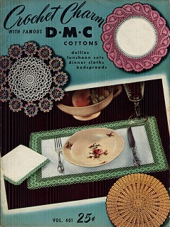 Image for Crochet Charm with Famous DMC Cottons Vol. 401