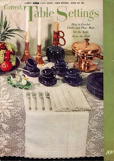 Image for Correct Table Settings Book No 260