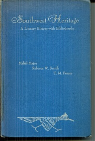 Image for Southwest Heritage A Literary History with Bibliography