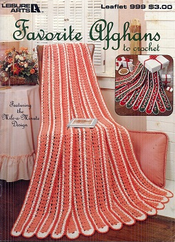 Image for Favorite Afghans to Crochet Leaflet 999