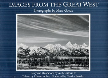 Image for Images from the Great West