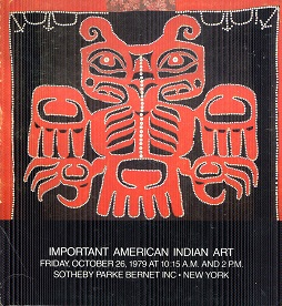 Image for Important American Indian Art Sale Number 4291