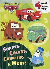 Image for Shapes, Colors, Counting & More! (Disney/Pixar Cars) (Friendship Box)