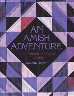 Image for An Amish Adventure: Workbook for Color in Quilts