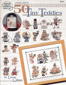 Image for 50 Tiny Teddies Book 3711