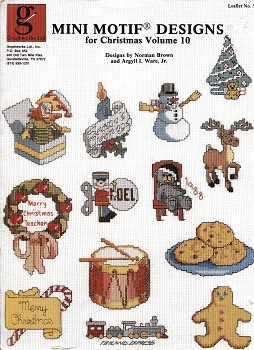 Image for Mini Motif Designs for Christmas Volume 10