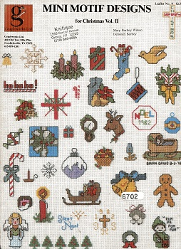 Image for Mini Motif Designs for Christmas Vol. II