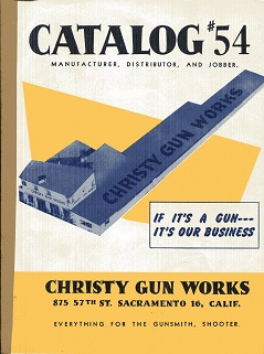 Image for Christy Gun Works Catalog #54