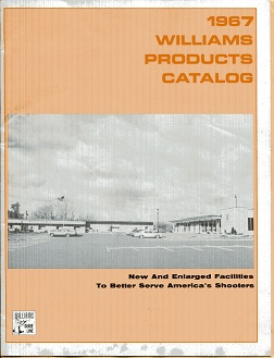Image for 1967 Williams Products Catalog