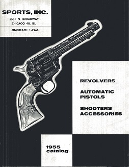 Image for Revolvers, Automatic Pistols, Shooters Acessories 1955 Catalog