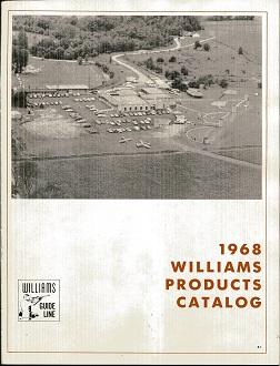 Image for 1968 Williams Products Catalog