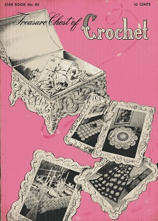 Treasure Chest of Crochet Star Book No. 45