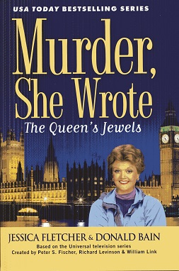 Image for The Queen's Jewels (Large Print) (Murder, She Wrote)