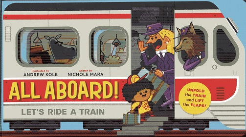 Image for All Aboard!: Let's Ride A Train