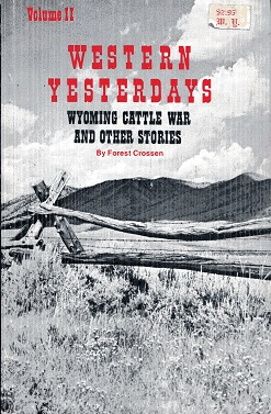Image for Western Yesterdays Volume II