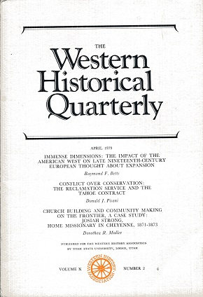 Image for The Western Historical Quarterly April 1979 Volume X Number 2