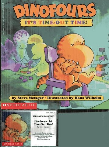 Image for It's Time-Out Time (Dinofours)