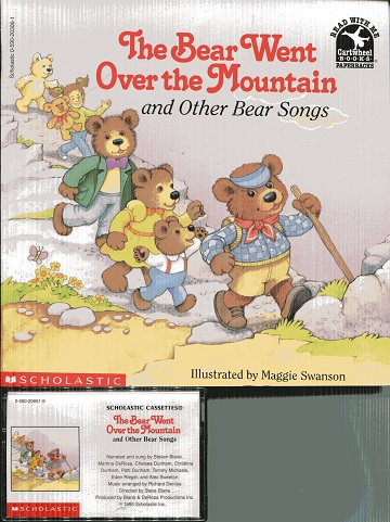 Image for The Bear Went Over The Mountain And Other Bear Songs (Read with me paperbacks)