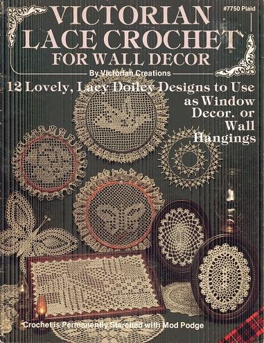 Image for Victorian Lace Crochet for Wall Decor #7750