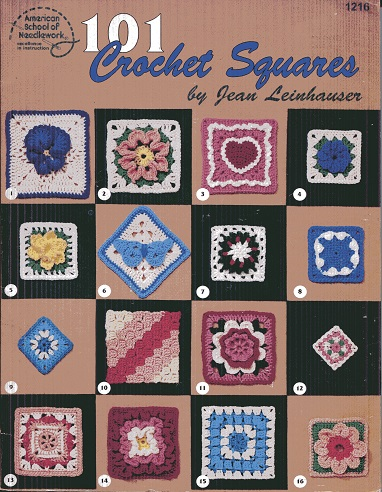 Image for 101 Crochet Squares (#1216)