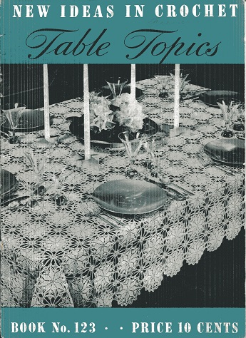 Image for New Ideas in Crochet Table Topice #123