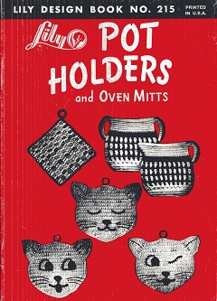 Image for Lily Pot Holders and Oven Mitts No. 215