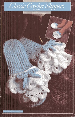 Image for Classic Crochet Slippers