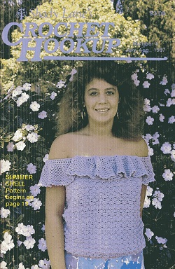 Image for Crochet Hookup Issue 4, July, August 1987