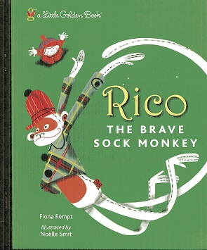 Image for Rico the Brave Sock Monkey (Little Golden Book)