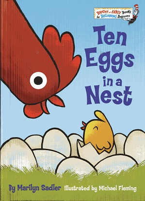 Image for Ten Eggs in a Nest (Bright & Early Books(R))