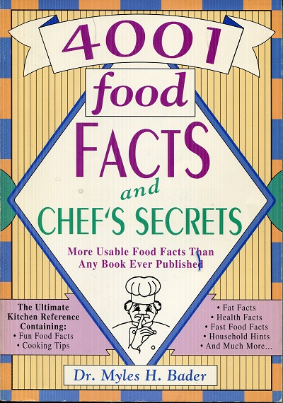 Image for 4001 Food Facts and Chef's Secrets