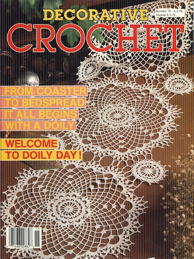 Image for Decorative Crochet No. 15  May 1990