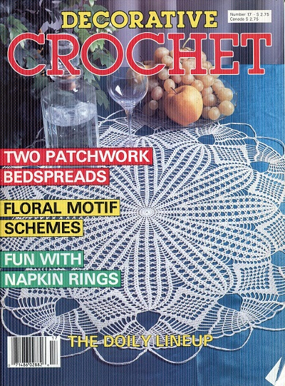Image for Decorative Crochet No. 17  September 1990