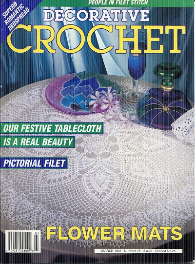 Image for Decorative Crochet No. 26  March 1992