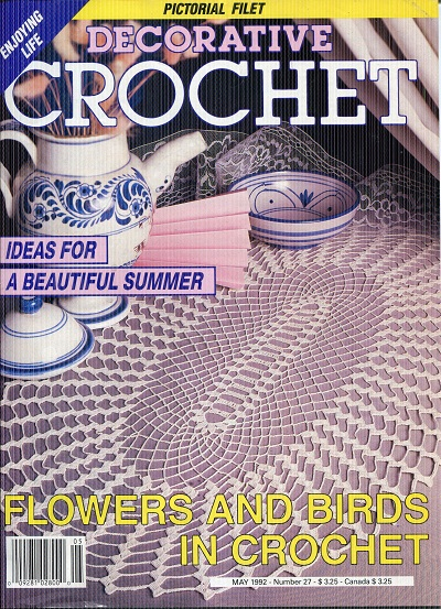Image for Decorative Crochet No. 27  May 1992