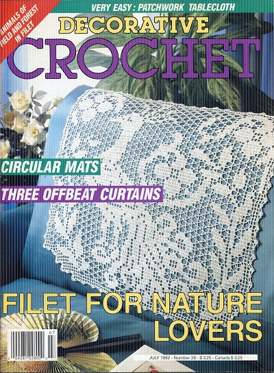 Image for Decorative Crochet No. 28  July 1992