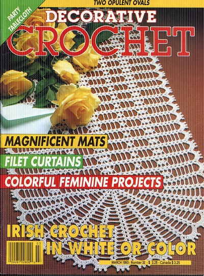 Image for Decorative Crochet No. 32  March 1993