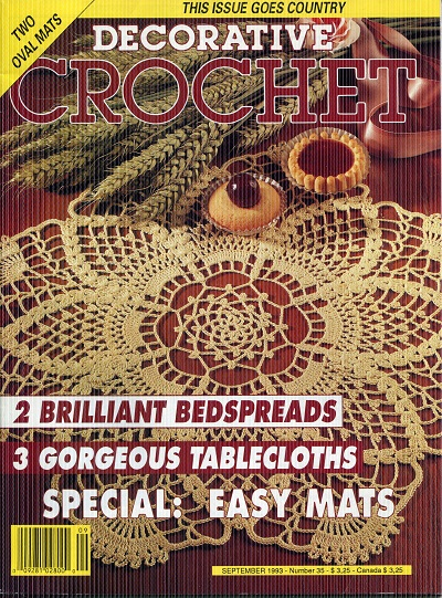 Image for Decorative Crochet No.35  September 1993