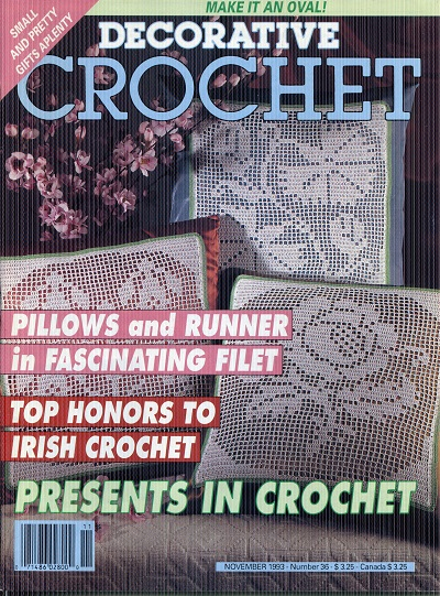 Image for Decorative Crochet No. 36  November 1993