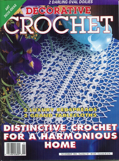 Image for Decorative Crochet No. 42  November 1994