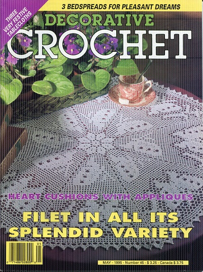 Image for Decorative Crochet No. 45  May 1995